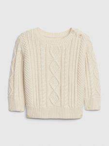 CHALECO BABY BOY CABLE-KNIT